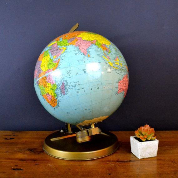 Image of 1957 Mechanical Satellite Orbit Demonstrator Globe