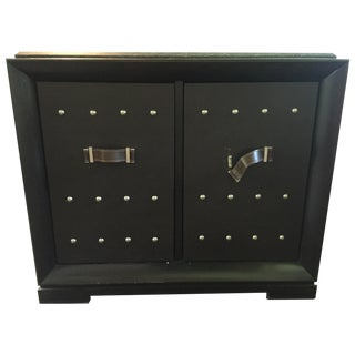 vintage used black credenzas chairish. Black Bedroom Furniture Sets. Home Design Ideas