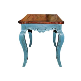 Chic Painted Side Table