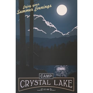 Camp Crystal Lake Poster by Steve Thomas
