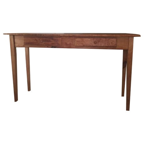 Vintage wooden console table chairish - Used console table for sale ...