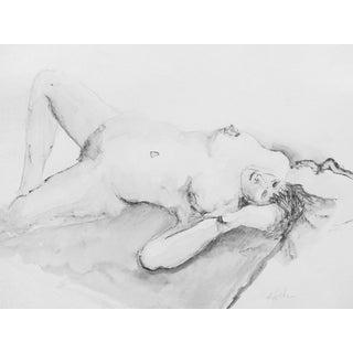 Classic Nude Original Drawing