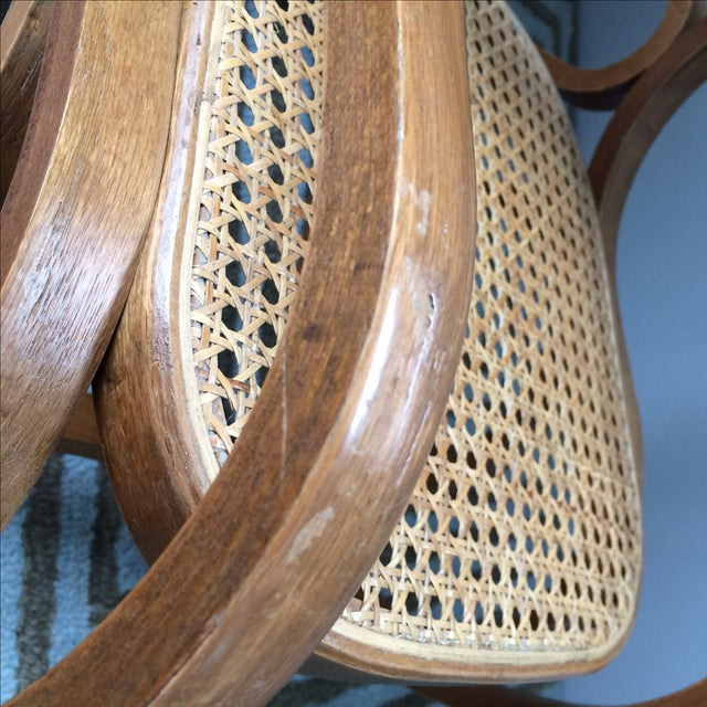Vintage Bentwood & Cane Child's Rocking Chair - Image 7 of 10