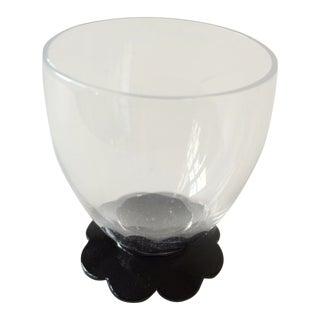 Black Floral Shot Glasses - Set of 6