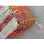 Image of Turkish Hand Woven Kilim Floor Pillow