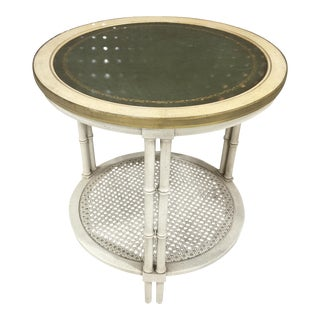 Faux Bamboo Regency Style Table