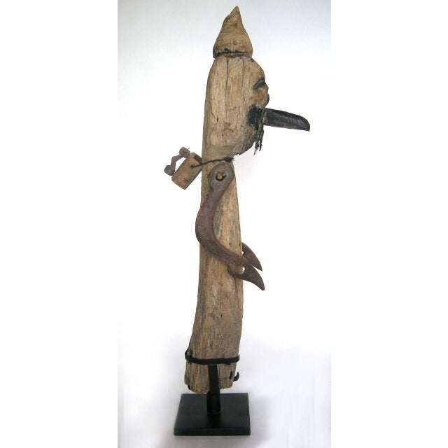 Antique Wood Balinese Scarecrow - Image 3 of 10
