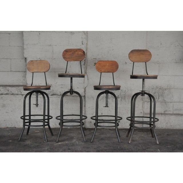 Zuo Era Twin Peaks Bar Stools Set Of 4 Chairish