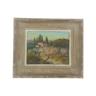 Country French Oil Painting