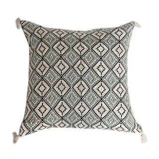 Guatemalan Black Pillow