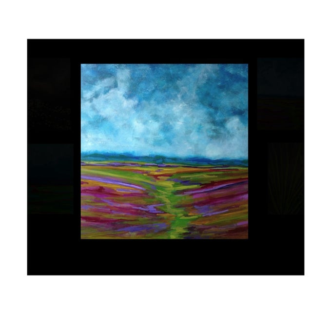 Bryan Boomershine Lavender Field Oil Painting - Image 2 of 3