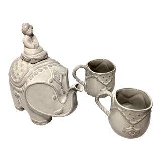 Jonathan Adler Utopia Darjeeling Teapot & Teacups