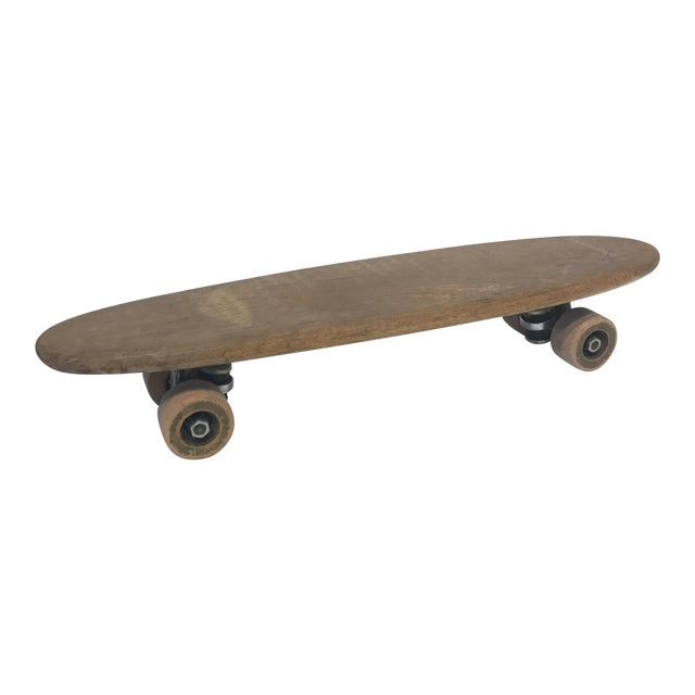 Vintage 1970's Wooden Skateboard - Image 1 of 6