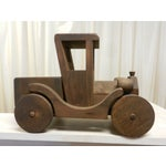 Image of Hand Made Toy Wooden Truck
