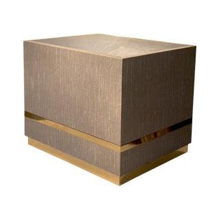 Linen Block Table