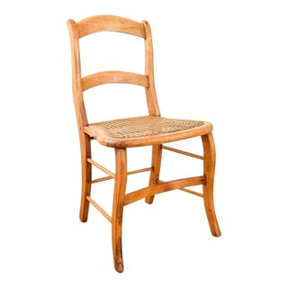 Antique Victorian Wood and Cane Chair