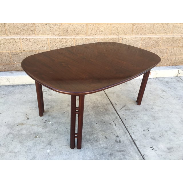 Image of Mid-Century Rosewood Dining Table