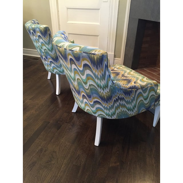 Jonathan Adler Haines Chairs - A Pair - Image 10 of 11