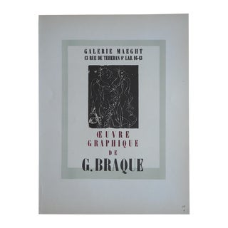 Georges Braque Modern Lithograph-Mourlot