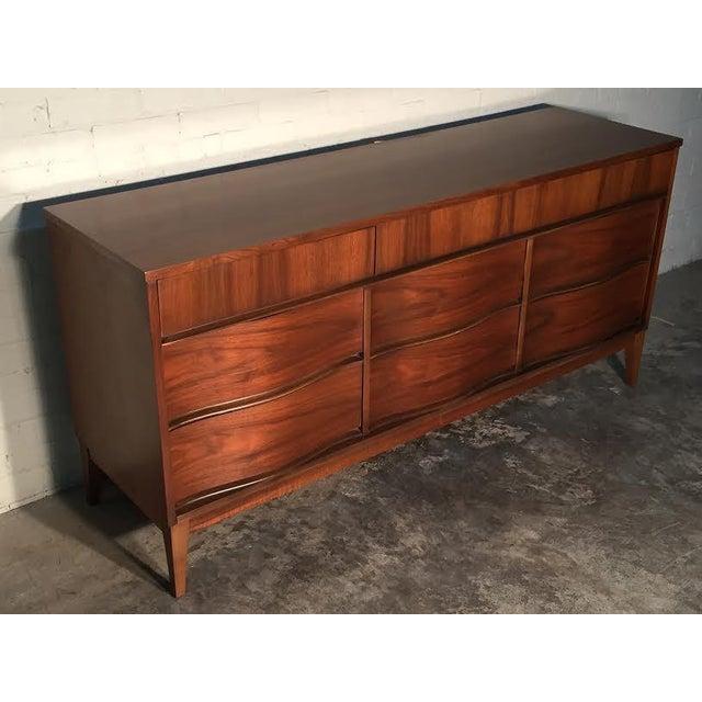 Mid-Century Modern Walnut Dresser - Image 8 of 11
