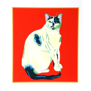 Dody Muller Mid-Century 'My Cat' Lithograph