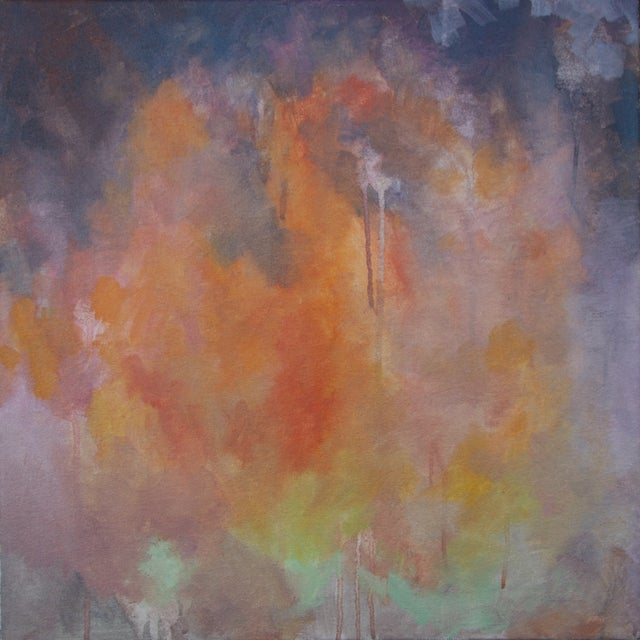 Kelly Johnston Glow Abstract Painting - Image 1 of 3