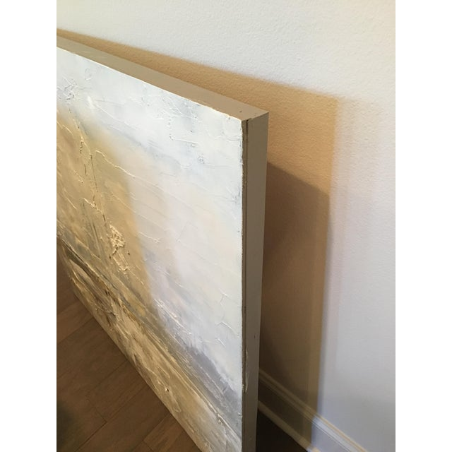 Obscured Horizon Mixed Media Painting - Image 5 of 6