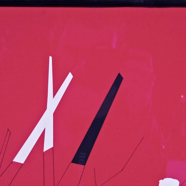 Bruno Munari Screen Print Hand Signed, 1984 - Image 7 of 7