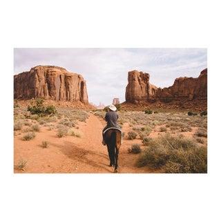 """""""Navajo Cowboy"""" Original Framed Photograph"""