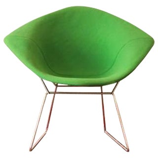 Green Diamond Chair by Harry Bertoia for Knoll