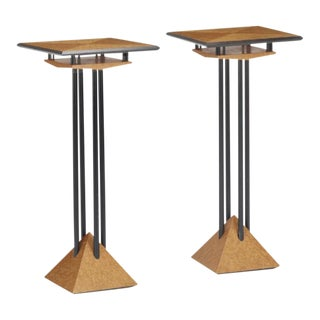 Modern Plant Stands - A Pair