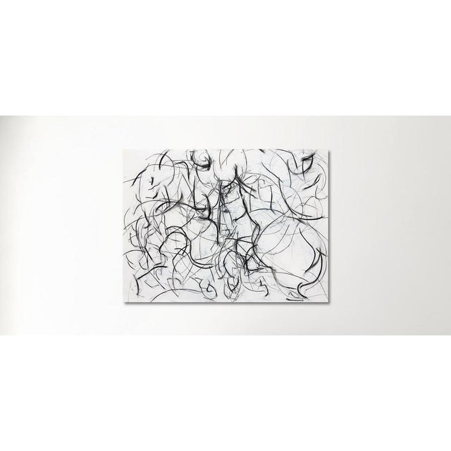 Polo Player Movement II Abstract Drawing - Image 5 of 5
