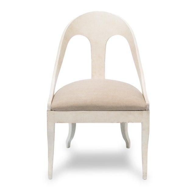 Sarreid LTD Alpiona Slipper Chair - Image 3 of 5