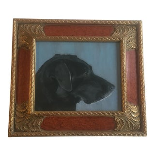 Judy Henn Black Lab Print