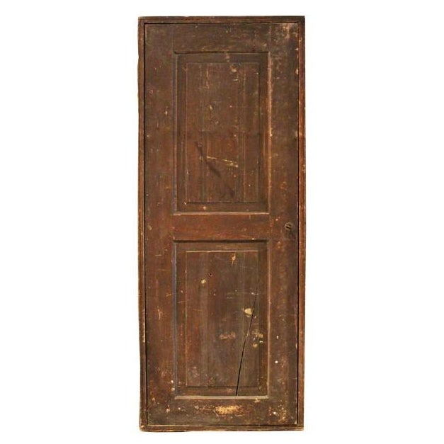 Image of Antique Door Hidden Cabinet