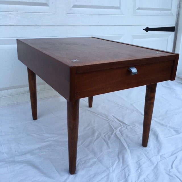 American of Martinsville Mid-Century Side Table - Image 10 of 11