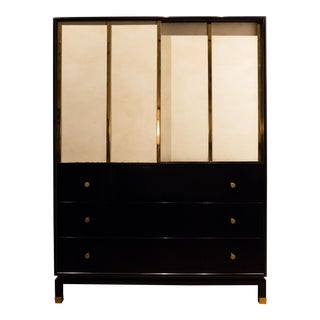 Harvey Probber Cabinet with Sliding Doors