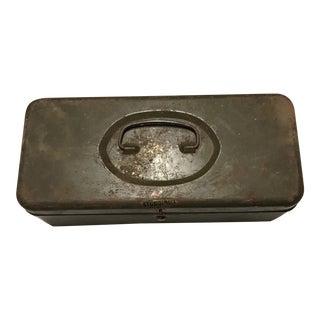 Vintage Sturdibilt Fishing Tackle Metal Box