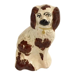 Staffordshire Brown Spotted Dog Figurine