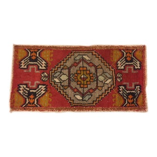 Handmade Turkish Rug - 1′6″ × 3′