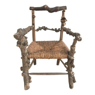 Early 19th Century French Root Chair