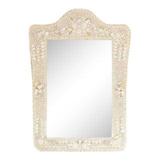 Pottery Barn Grand Shell Mirror