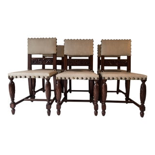 Spanish Monastery Chairs - Set of 6