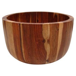 Teak Wood Fruit Table Bowl