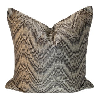 Custom Geometric Zigzag Pillow Cover