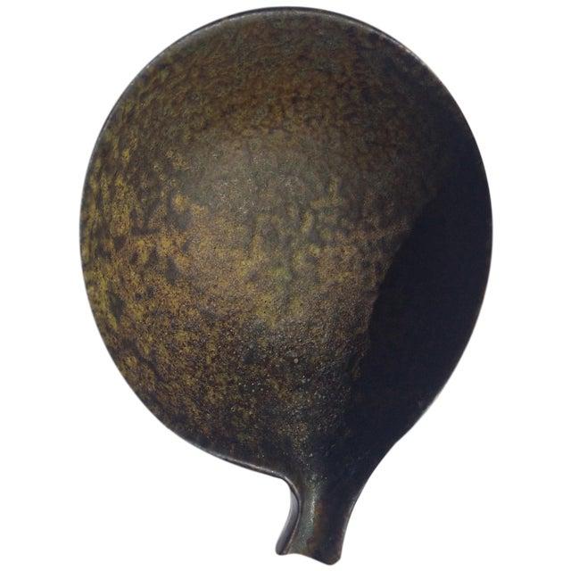 1960s Fantoni Gambone Italian Glaze Black Dish - Image 1 of 6