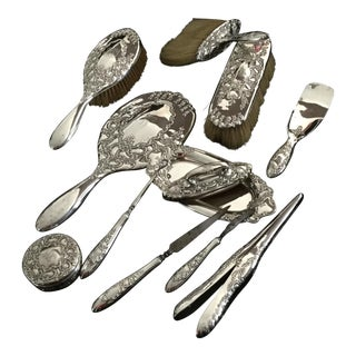 Tiffany & Co. Sterling Antique Dressing Tools - Set of 12