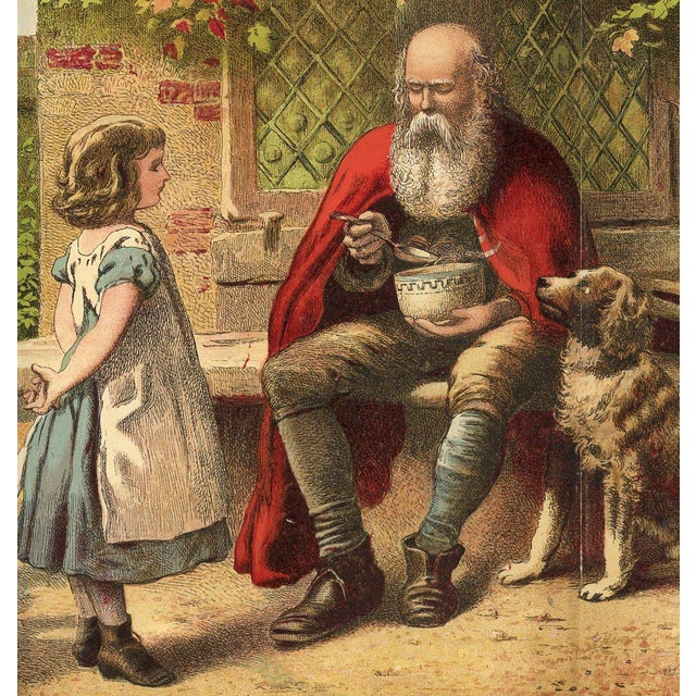 "Joseph Kronheim ""The Good Children"" C. 1880s - Image 2 of 2"