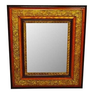 Antique Gesso Framed Mirror