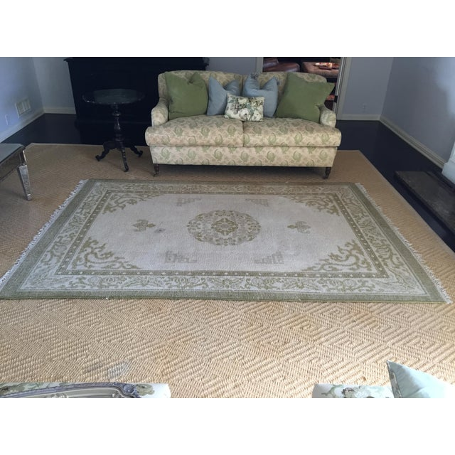 "Vintage Asian Area Rug - 5'11"" X 9'4"" - Image 2 of 5"